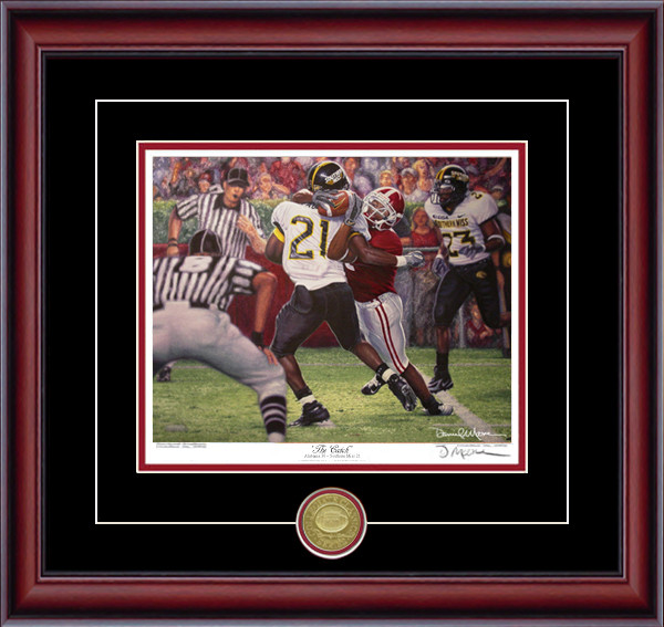 """The Catch"" - Collegiate Classic 8x10 - Alabama Football vs. Southern Mississippi 2005 (Tyrone Prothro)"