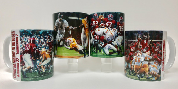 Alabama Football - Tennessee Moments Mug Collection