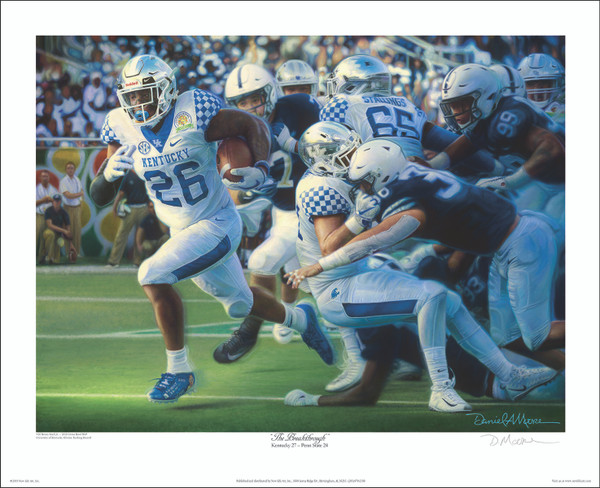 The Breakthrough - Limited  Editions - 2018 Kentucky Football
