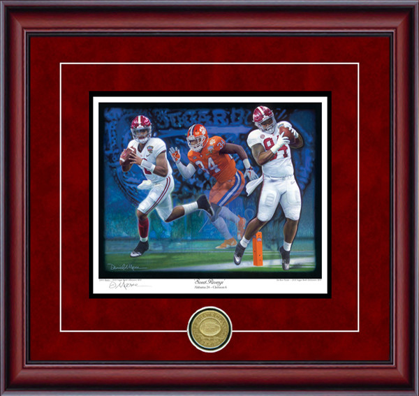 "Sweet Revenge"" - Collegiate Classic 8x10 - Alabama Football 2017 SEC Champions"