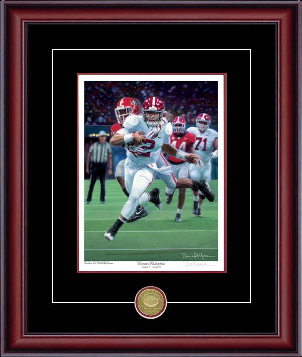 """""""Crimson Redemption"""" - Collegiate Classic 8x10  Alabama vs. Georgia - 2018 SEC Championship Game"""