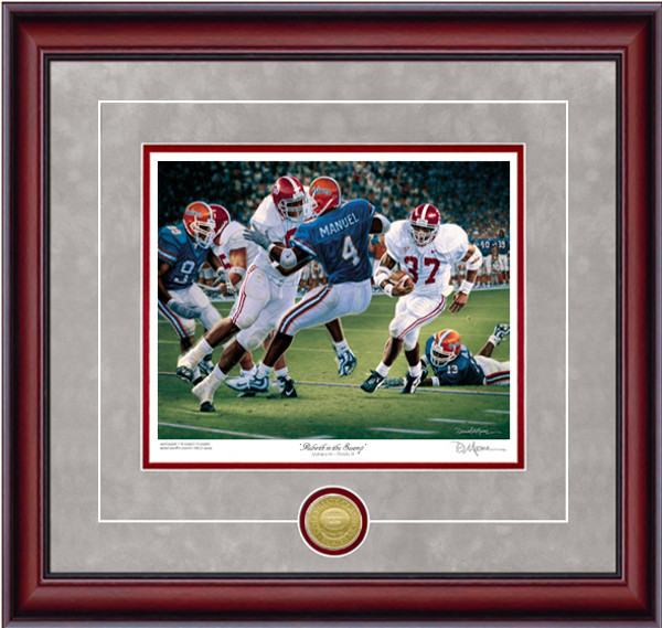 """Rebirth in the Swamp"" - Framed Collegiate Classic 8x10 - Alabama Football vs. Florida 1999 - 20th Anniversary Special #2"