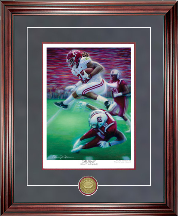 """The Hurdle"" - Collegiate Classic 8x10  Print"