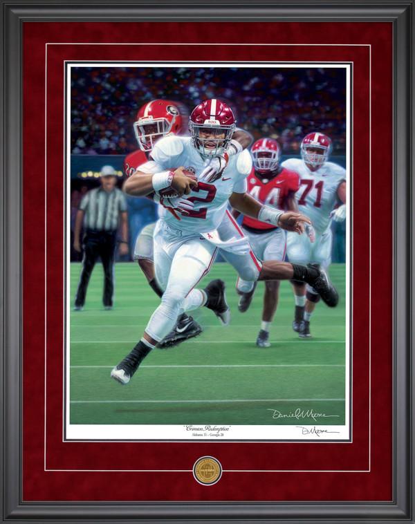 """Crimson Redemption"" - Limited Edtions - Alabama vs. Georgia - 2018 SEC Champions"