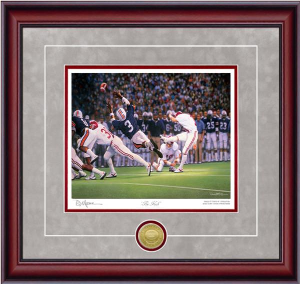 """The Kick"" - Collegiate Classic 8x10 - Alabama Football vs. Auburn 1985 (Van Tiffin)"