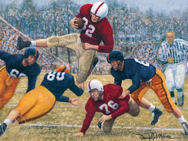 """Iron Bowl 1950"" - Alabama Football vs. Auburn"