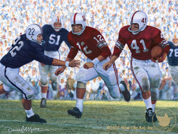 """Iron Bowl 1959"" - Alabama Football vs. Auburn"