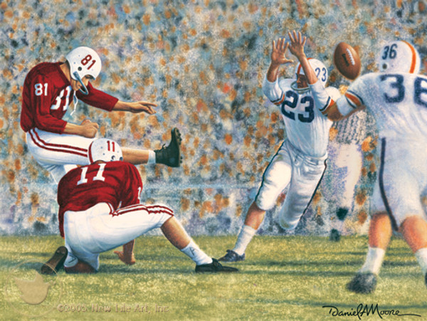 """Iron Bowl 1960"" - Alabama Football vs. Auburn"