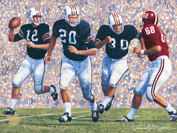 Iron Bowl 1963 by Daniel A. Moore