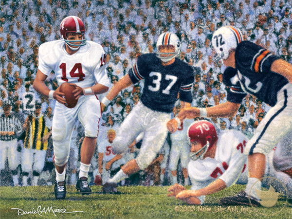 """Iron Bowl 1965"" - Alabama Football vs. Auburn"
