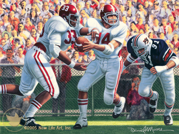 """Iron Bowl 1975"" - Alabama Football vs. Auburn"