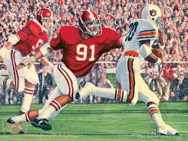 """Iron Bowl 1976"" - Alabama Football vs. Auburn"