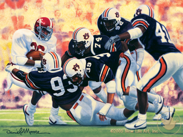 Iron Bowl 1987 by Daniel A. Moore