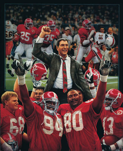 """The Tradition Continues"" - Collegiate Classic 8x10 - Alabama Football 1992 National Champions"