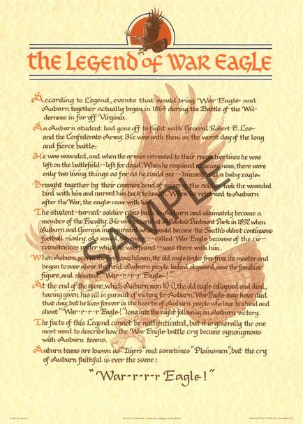 """""""The Legend of War Eagle"""""""