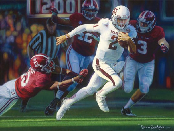 """Turning the Tide"" by Daniel A. Moore 2012 College Football Game of the Year Award®"