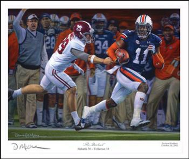 """The Runback"" - Collegiate Classic 8x10 - Auburn Football vs. Alabama 2013"