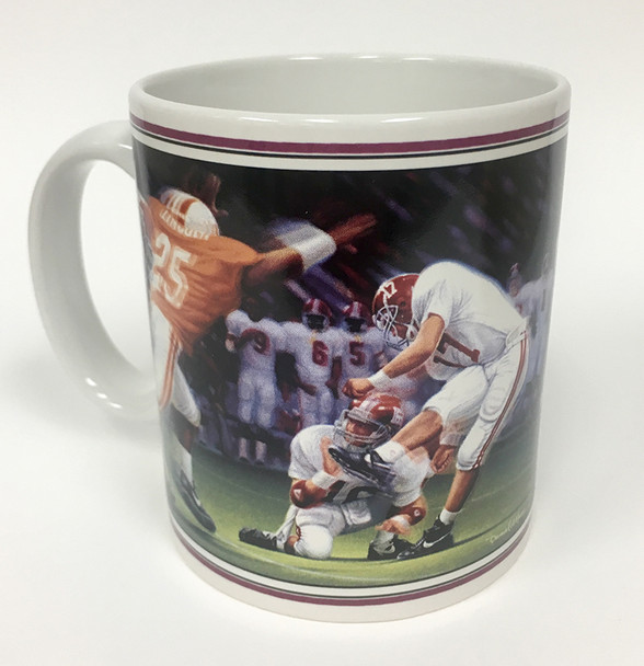 "Collector's Mug - ""The Kick II"" (Alabama Football)"