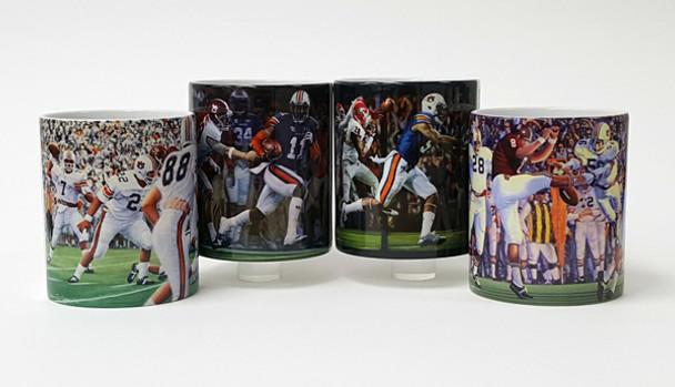 Auburn Football Mug Collection #1