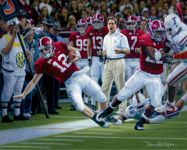 """""""Champions"""" by Daniel A. Moore — 2009 College Football Game of the Year Award®"""