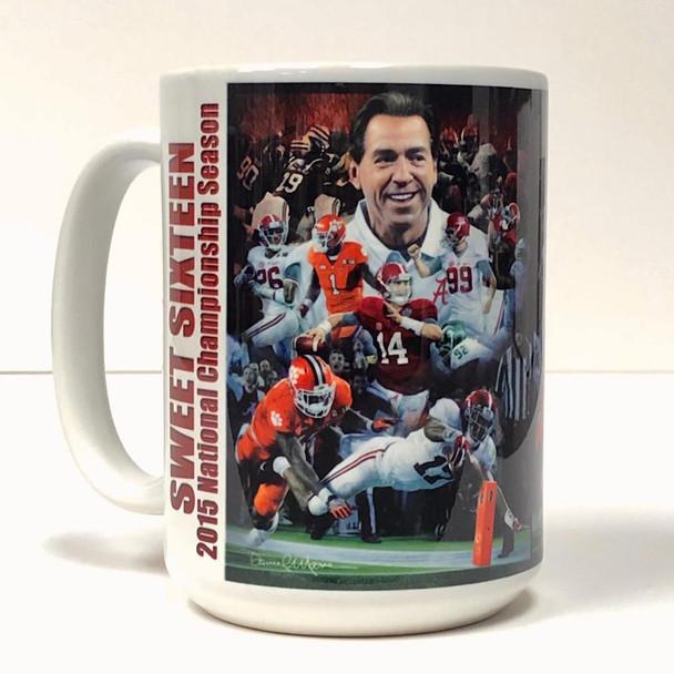 Sports Art Beverage Mugs (15 oz.)