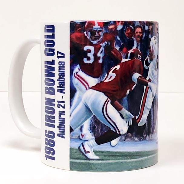 Auburn Football Beverage Mugs (11 oz.) [Set of 4]