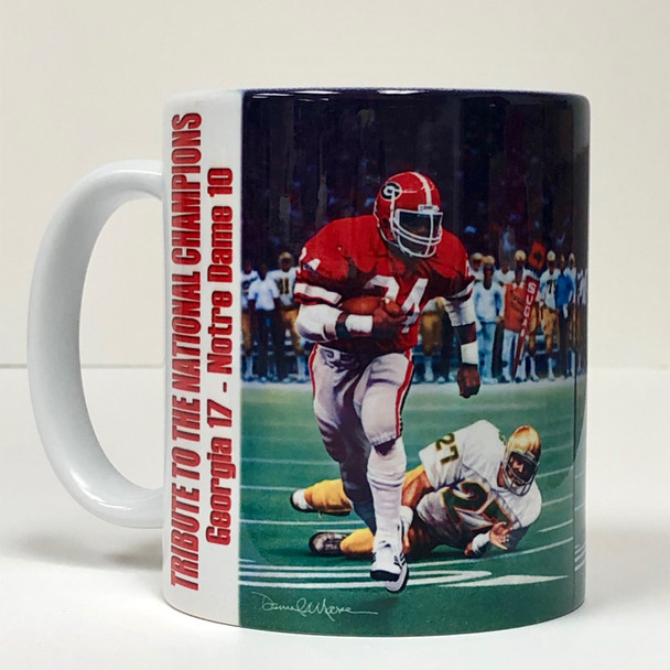 """Tribute to the National Champions"" 11oz Beverage Mug (Georgia Football)"
