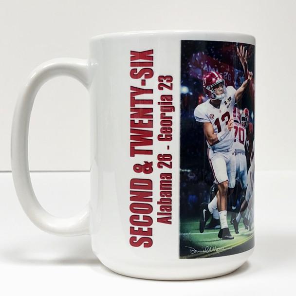 """Second & Twenty-Six"" Beverage Mug (Alabama Football)"
