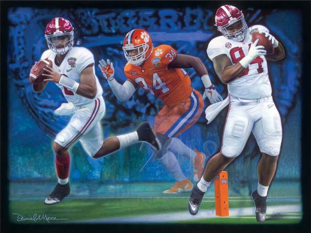 """Sweet Revenge"" - Limited Edition Prints - Alabama vs. Clemson - CFP Semi-Finals - 2018 Sugar Bowl"