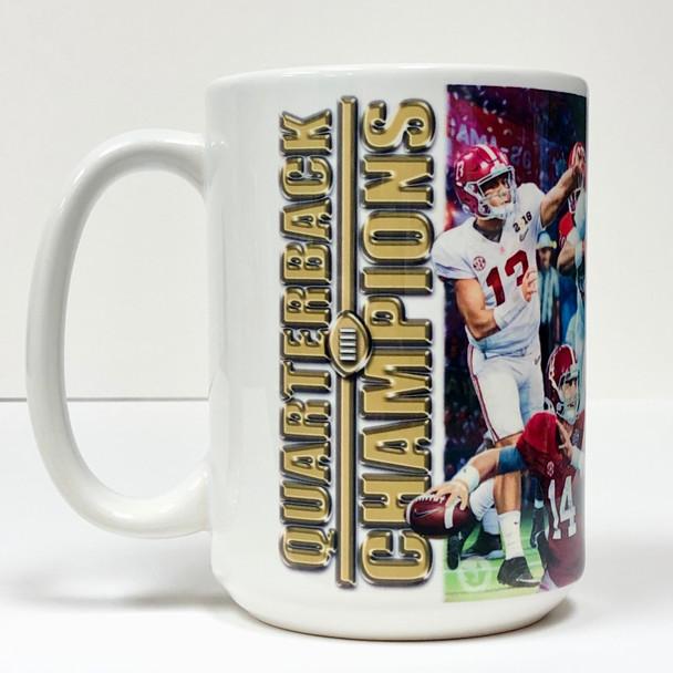 """""""Championship Quarterbacks"""" - 2019 Limited Edition 15 oz. Mug - Third in Series"""