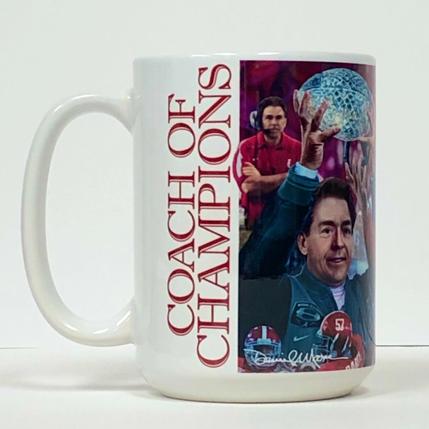 """""""Coach of Champions"""" - 2020 Limited Edition 15 oz. Mug - Fourth in Series"""