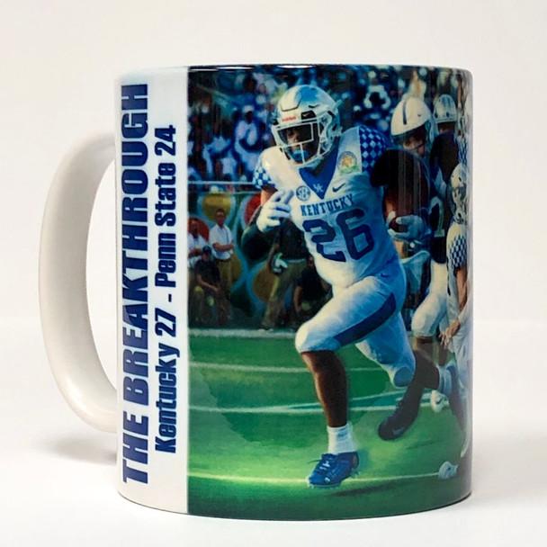 """""""The Breakthrough"""" 11oz Beverage Mug (Kentucky Football)"""