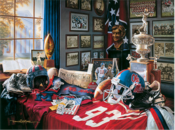 """""""Ole Miss Legacy"""" by Daniel A. Moore — 100 years of Ole Miss football"""