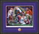 Shown in our Black frame with Purple/Orange matting