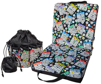 Bingo Double Cushion & Tote Set