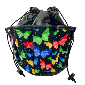 Butterfly 10 Pocket Tote Bag