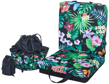 Jungle Double Cushion & Tote Set