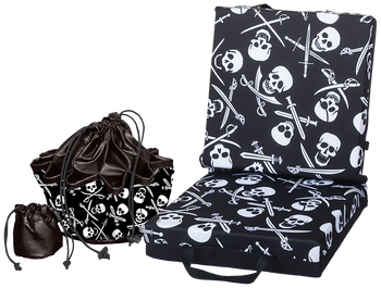 Skull and Swords Double Cushion & Tote Set