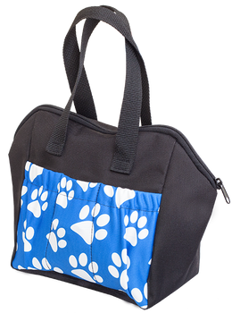 Paws 6 Pocket Tote Bag