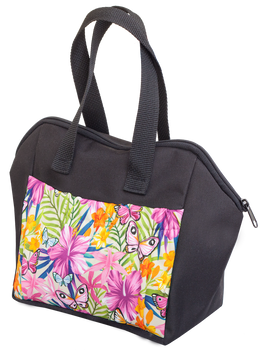 Butterfly Garden 6 Pocket Tote Bag