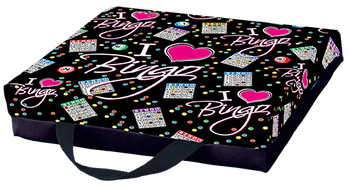 I Love Bingo Single Cushion