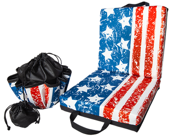 Flag Double Cushion & Tote Set