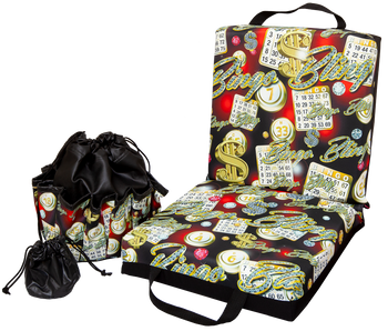 Bingo Bling Double Cushion & Tote Set