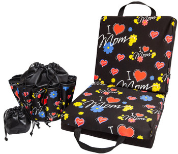 I heart Mom Bingo Double Cushion & Tote Set