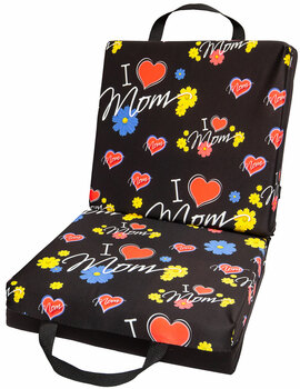 I Heart Mom Bingo Cushion