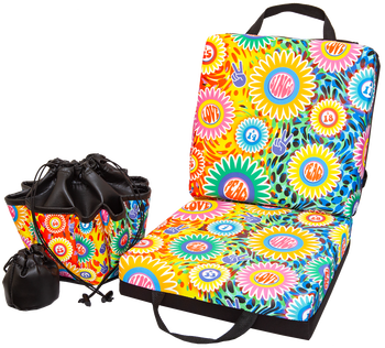 Peace, Love, Bingo Double Cushion & Tote Set