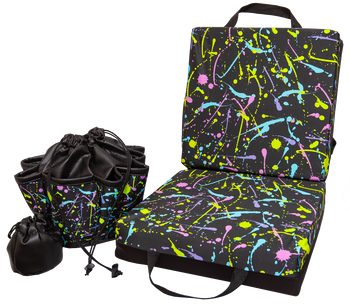 Paint Splatter Double Cushion & Tote Set
