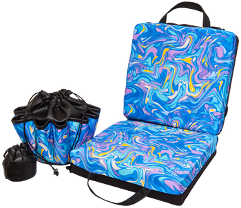 Psychedelic Double Cushion & Tote Set