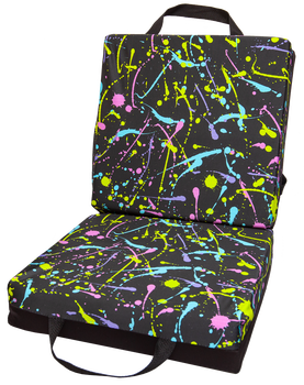 Paint Splatter Double Cushion