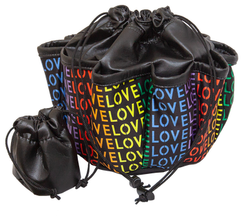 LOVE 10 Pocket Tote Bag